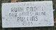 Ruth Naomi Pullins