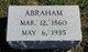 Profile photo:  Abraham Price