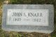 Profile photo:  John H. Knarr