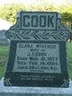 Clara <I>McKenzie</I> Cook