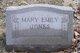 Mary Emily <I>King</I> Jones