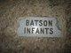 Profile photo:  Infants Batson