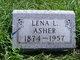 Profile photo:  Lena Leota Asher