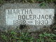 Martha Sarah <I>McPeak</I> Bolerjack