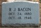 Profile photo:  Robert James Bacon
