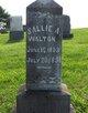 Sallie A Walton