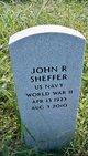 Profile photo:  John R Sheffer