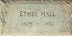 Emma Ethel <I>Neal</I> Hall