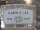 Karen E <I>Kadwell</I> Lee