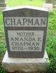 Profile photo:  Amanda E. Chapman