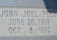 John Joel Peed