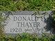 Donald F. Thayer