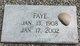 Faye B <I>Pinion</I> Arrant
