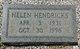 Helen Hendricks Arrant
