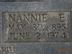 "Profile photo:  Nannie McClure ""Ma'am"" <I>Ross</I> Bostic"