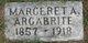 Profile photo:  Margeret A Argabrite