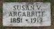 Profile photo:  Susan V Argabrite