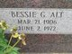 Bessie Goldie Gay <I>Marteney</I> Alt