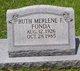 Profile photo:  Ruth Merlene <I>Fornea</I> Fonda