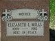 Elizabeth Louise <I>Grant</I> Newton-Mills