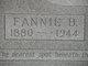 Fannie Bell <I>McLain</I> Calvery