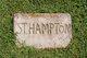 "Sylvester Taylor ""Vess"" Hampton"