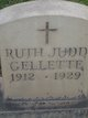 Profile photo:  Ruth Judd Gellette