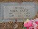Nora Thomas <I>Good</I> Casey