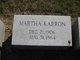 Martha <I>Lieberman</I> Karron