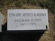 Edward Moses Karron