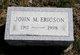 John Morris Ericson Jr.