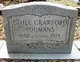 Ethel <I>Crawford</I> Youmans