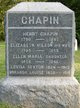 Henry Chapin