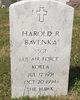 Profile photo:  Harold R Bavlnka