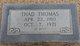 """Thadius E """"Thad"""" Thomas"""