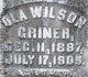 Ola <I>Wilson</I> Griner
