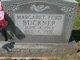 Margaret Virginia <I>Ford</I> Buckner