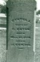 Cynthia Jane <I>Watson</I> Eaton