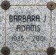 Profile photo:  Barbara Jean <I>Carter</I> Adams