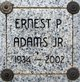 "Profile photo:  Ernest Pel ""Ernie"" Adams Jr."