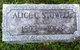 Profile photo:  Alice Church <I>Stowell</I> Bambury