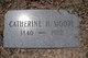 Catherine Sagnone <I>Hogan</I> Moore