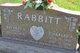 """Charles A. """"Chuck"""" Rabbitt"""
