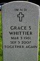 Grace Gladys <I>Hughes</I> Whittier