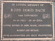 Ruby Doris <I>Townsend</I> Bach