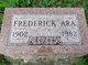 Profile photo:  Fredrick Ara