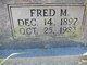 Fred M. Wilson