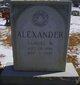 Profile photo:  Samuel W Alexander