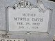 Myrtle <I>Davis</I> Henderson