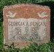 Georgia A. Duncan